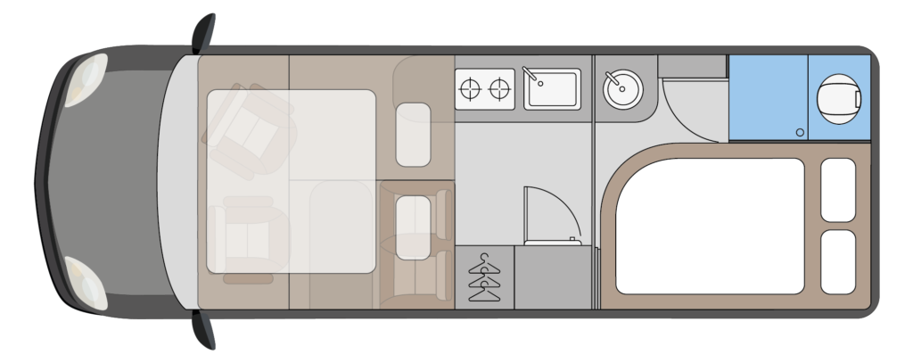 Globe-Traveller Pathfinder X grondplan