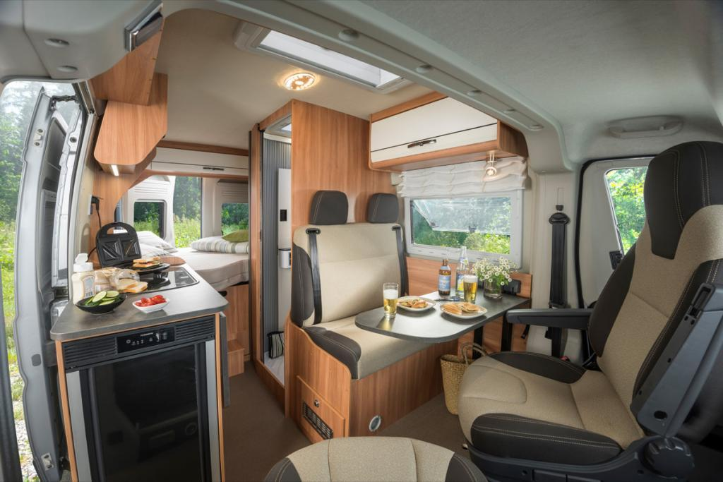 Summit 540 prime interieur