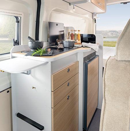 Karmann Dexter 560 4x4 keuken