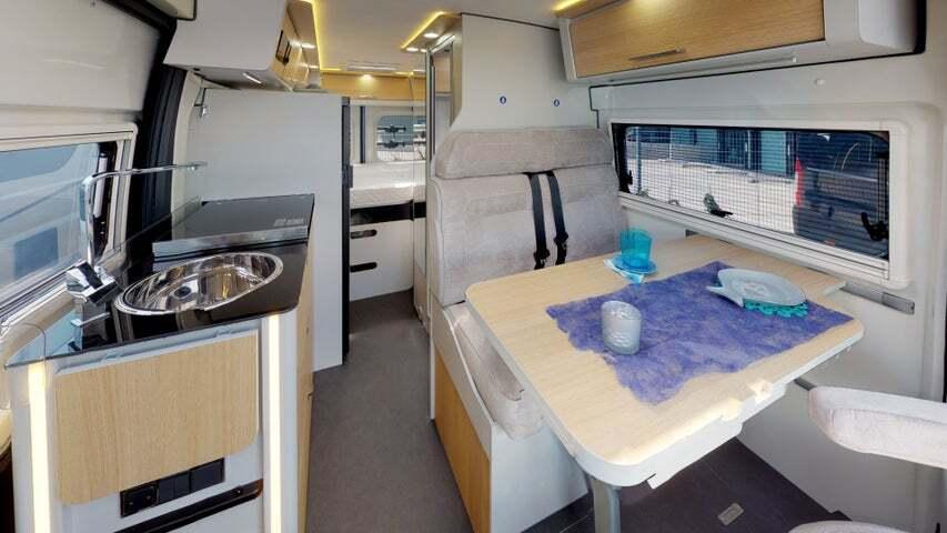 Karmann Dexter 580 keuken