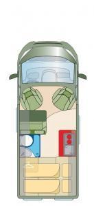 Roadcar R540 grondplan