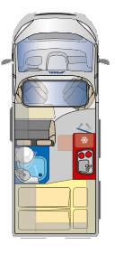 Roadcar 640 DK grondplan